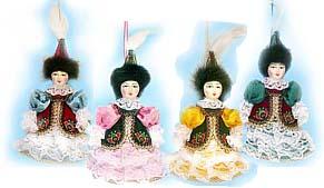 Куклы в народных костюмах №28 Кукла в казахском праздничном костюме